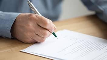 Projeto moderniza o pequeno testamento que expressa a última vontade de uma pessoa.